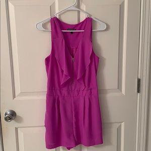 Pink dressy romper